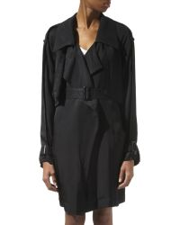 Alexander Wang Trench Coat - Lyst