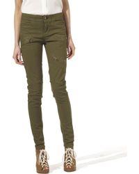 By Malene Birger Ilania Zipped Jeans - Lyst
