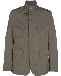 Fay Military Jacket - Lyst