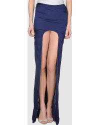Haider Ackermann B Long Skirt - Lyst