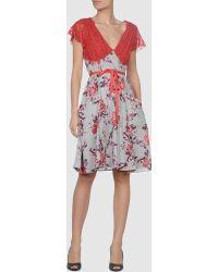 Odd Molly Red Short Dress - Lyst