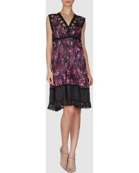 Odd Molly P Short Dress - Lyst