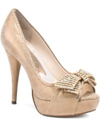 Boutique 9 Glamy gold - Lyst