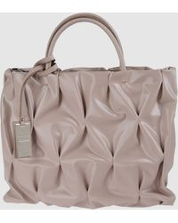 Coccinelle Large Fabric Bag - Lyst