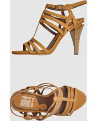 Get U High-Heeled Sandals - Lyst