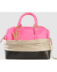 Isaac Mizrahi New York - Medium Leather Bag - Lyst