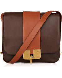 Marc Jacobs Bamboo Leather Shoulder Bag - Lyst