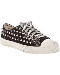 Gienchi Studded Sneaker - Lyst