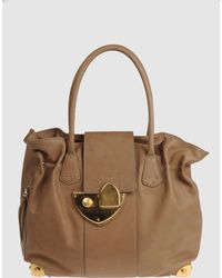 Vionnet Large Leather Bag - Lyst