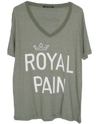 Wildfox The Royal Pain Oversized Tee - Lyst