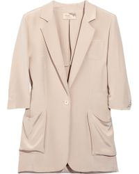 Elizabeth And James James Silk Blazer - Lyst
