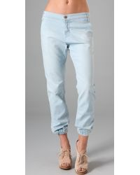 James Jeans - Tailored Denim Sweatpants - Lyst