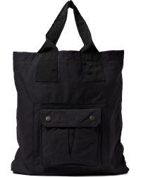 Lanvin - Nylon Tote Shopper Bag - Lyst