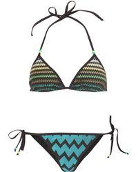 Missoni Mare Victoria Zigzag String Bikini - Lyst