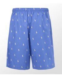 Ralph Lauren - Pony Pyjama Short - Lyst