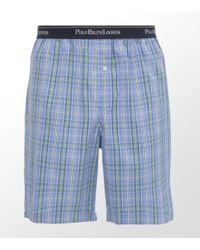 Ralph Lauren - Crook Plaid Pyjama Short - Lyst