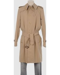 Aquascutum Brown Full-length Jacket - Lyst