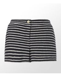 Tory Burch Sally Terry Stripe Short - Lyst