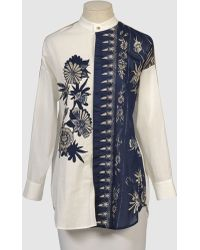 Vivienne Tam Long Sleeve Shirt - Lyst