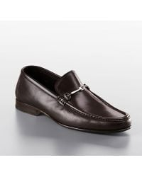 Bruno Magli Vox Leather Loafers - Lyst