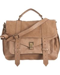 Proenza Schouler Large Leather Ps1 - Lyst