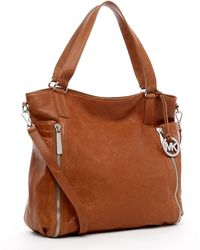 Michael Kors Michael Crossby Large Tote Luggage - Lyst