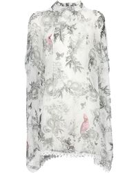 Beyond The Valley - Printed Smock Dress - Lyst