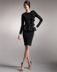 Valentino | Knit Godet-back Pencil Skirt | Lyst