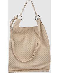 Via Repubblica Large Leather Bag - Lyst