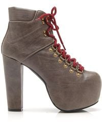 Jeffrey Campbell Everest Booties - Lyst