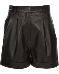 Richard Nicoll - Lily Leather Shorts - Lyst