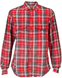 Relwen - Rustic Madras Shirt - Lyst