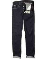J.Crew | Straight Leg 484 Selvedge Jeans | Lyst