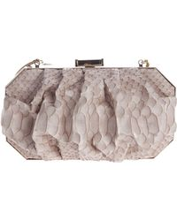 Philippe Roucou - Python Skin Box Clutch - Lyst