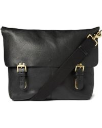 Mulberry Barnaby Leather Messenger Bag - Lyst