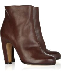 Maison Margiela Leather Ankle Boot - Lyst