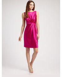 Callula Lillibelle - Stretch Silk Satin Dress - Lyst