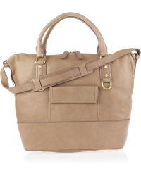 J.Crew | Beaux Arts Leather Hobo Bag | Lyst