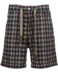 White Mountaineering - Check Short - Lyst