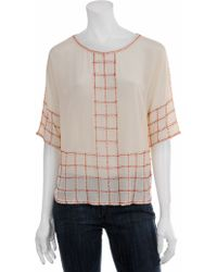 Beyond Vintage Exclusive Beaded Blouse - Lyst