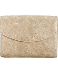 L'Wren Scott - Small Stamped Leather Pouchette - Lyst