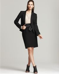DKNY System Dress with Tropical Wool Pencil Skirt and One-button Long Sleeve Jacket - Lyst