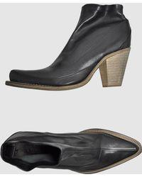 Jean Paul Gaultier Shoe Boots - Lyst