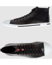 Prada Sport High-top Sneaker - Lyst