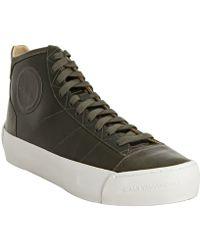Y-3 Ivy Leather Hejarklack High Top Sneakers - Lyst
