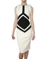 Antonio Berardi Double Wool Stretch Dress - Lyst