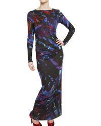Erdem Viscose Jersey Long Dress - Lyst
