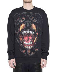 Givenchy Rottweiler Fleece Sweatshirt black - Lyst