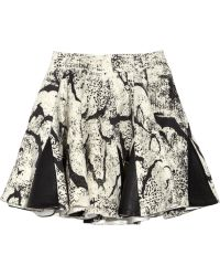 Felder Felder - Alice Wool and Leather Skirt - Lyst