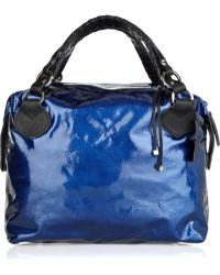Pauric Sweeney - Textured Patent-leather Tote - Lyst